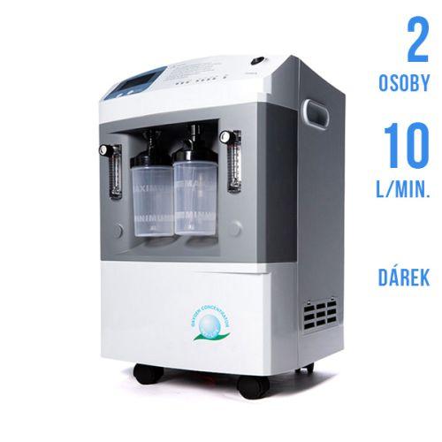 Kyslíkový koncentrátor / oxygenerátor JAY-10 DUO (pro dvě osoby)