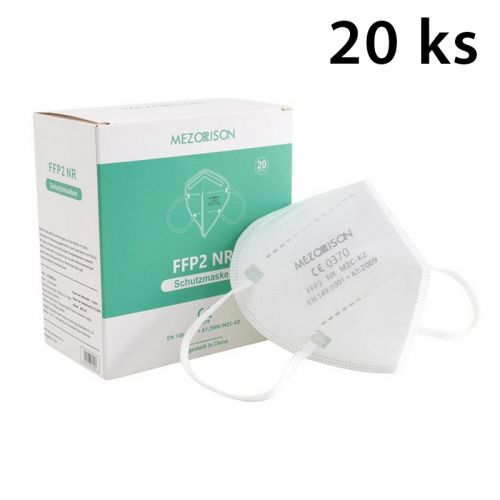Respirátor FFP2 Mezorrison NR (20 ks)